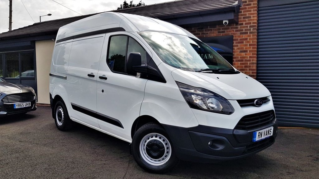 USED 2015 15 FORD TRANSIT CUSTOM 2.2 270 L1 H2 P/V 99 BHP ***SENSORS - FSH - TWIN LOADING DOORS***