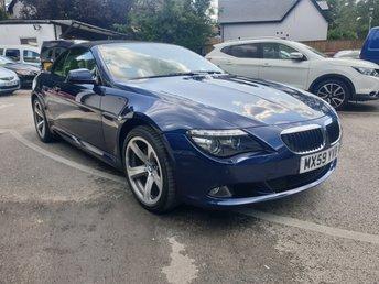 2010 BMW 6 SERIES 3.0 630I SPORT 2d 269 BHP £10990.00
