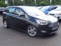 USED 2016 16 FORD GRAND C-MAX 1.5 TITANIUM X TDCI 5d 118 BHP £30 A YEAR ROAD TAX EXCELLENT 1 OWNER FAMILY 7 SEATER WITH FSH