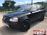 USED 2012 12 VOLVO XC90 2.4 D5 SE LUX AWD 5d AUTO 200 BHP 7 SEATER SATNAV LEATHER PRIVACY FSH 4WD. SATELLITE NAVIGATION. 7 SEATER. STUNNING BLACK MET WITH FULL BLACK LEATHER TRIM. ELECTRIC MEMORY HEATED SEATS. CRUISE CONTROL. 18 INCH BLACK ALLOYS. COLOUR CODED TRIMS. PRIVACY GLASS. PARKING SENSORS. BLUETOOTH PREP. CLIMATE CONTROL. R/CD PLAYER. MFSW. ROOF BARS. MOT 04/20. SERVICE HISTORY. SUV & 4X4 CAR CENTRE LS23 7FR. TEL 01937 849492 OPTION 2