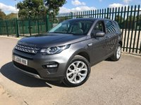 2015 LAND ROVER DISCOVERY SPORT 2.0 TD4 HSE 5d AUTO 180 BHP 7 SEATER PANROOF SATNAV LEATHER ONE OWNER FSH £18790.00
