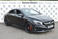 USED 2016 66 MERCEDES-BENZ CLA 2.0 AMG CLA 45 4MATIC 4d AUTO 375 BHP NIGHT PACK