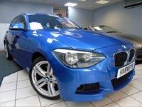 USED 2014 64 BMW 1 SERIES 2.0 125D M SPORT 5d AUTO 215 BHP