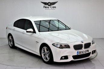 2013 BMW 5 SERIES 2.0 520D M SPORT 4d AUTO 181 BHP £10490.00