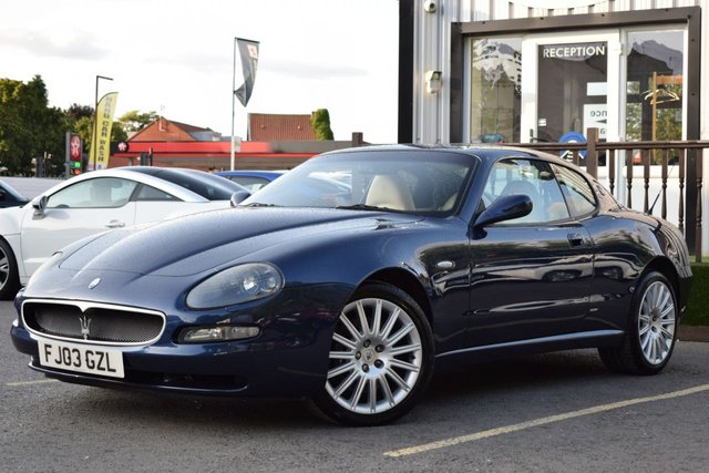 View our MASERATI COUPE