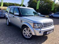 2012 LAND ROVER DISCOVERY 3.0 4 SDV6 XS 5d AUTO 255 BHP £16500.00