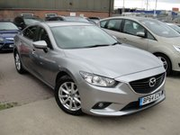 USED 2015 64 MAZDA 6 2.2 D SE NAV 4d 148 BHP ANY PART EXCHANGE WELCOME, COUNTRY WIDE DELIVERY ARRANGED, HUGE SPEC