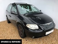 USED 2007 57 CHRYSLER VOYAGER 2.4 EXECUTIVE 5d 145 BHP