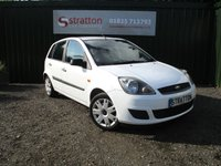 USED 2007 57 FORD FIESTA 1.4 STYLE CLIMATE 16V 5d 68 BHP