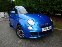 2015 FIAT 500 1.2 S 3d 69 BHP