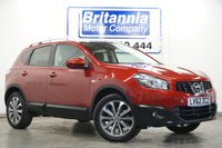 2013 NISSAN QASHQAI 2.0 TEKNA TOP SPECIFICATION AUTOMATIC 140 BHP £9990.00