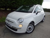 2012 FIAT 500 0.9 LOUNGE 3d 85 BHP £3995.00