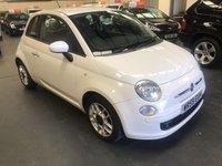 2009 FIAT 500 1.2 SPORT 3d 69 BHP £3495.00