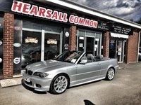 2003 BMW 3 SERIES 2.2 320CI SPORT 2d 168 BHP £3000.00