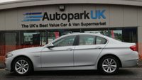 USED 2014 14 BMW 5 SERIES 2.0 518D SE 4d AUTO 141 BHP LOW DEPOSIT OR NO DEPOSIT FINANCE AVAILABLE