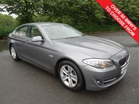 USED 2013 62 BMW 5 SERIES 2.0 520D SE 4d AUTO 181 BHP