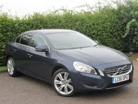 USED 2012 12 VOLVO S60 1.6 DRIVE SE S/S 4d  * FULL SERVICE HISTORY *