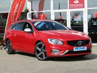 2015 VOLVO V60 2.0 D4 R-DESIGN NAV 5d 178 BHP £9795.00
