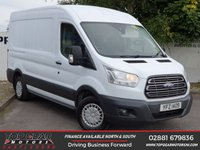 USED 2015 FORD TRANSIT 290 2.2 125 BHP TREND L2 H2**OVER 85 VANS IN STOCK**