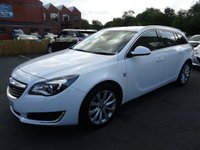 USED 2015 65 VAUXHALL INSIGNIA 2.0 ELITE NAV CDTI ECOFLEX S/S 5d 138 BHP 1 OWNER + FULL VAUXHALL SERVICE HISTORY