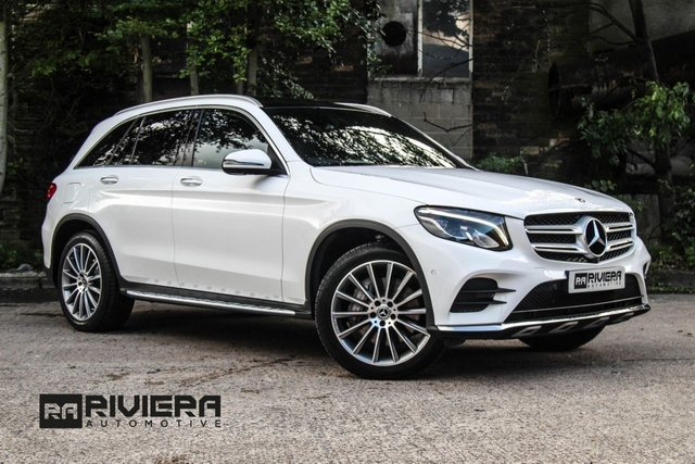 2017 67 MERCEDES-BENZ GLC-CLASS 3.0 GLC 350 D 4MATIC AMG LINE PREMIUM PLUS 5d AUTO 255 BHP