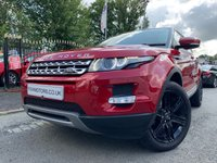 USED 2013 13 LAND ROVER RANGE ROVER EVOQUE 2.2 SD4 PRESTIGE 5d AUTO 190BHP FSH+2KEYS+TOP SPEC+SATNAV+DAB+LEATHER HEATED SEATS+BIG ALLOYS+AUX