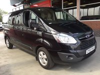 USED 2015 15 FORD TRANSIT CUSTOM 2.2 290 LIMITED LR DCB 1d 124 BHP BUY FOR ONLY 43 A W/K FINANCE