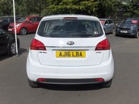 USED 2016 16 KIA VENGA 1.4 CRDI 2 5d 89 BHP BALANCE OF MANUFACTURERS SEVEN YEAR WARRANTY