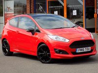 USED 2016 16 FORD FIESTA 1.0 ST-LINE RED EDITION NAV 3dr 140bhp **Nav + DAB + Sync Bluetooth**