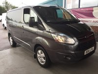 USED 2016 16 FORD TRANSIT CUSTOM 2.2 270 LIMITED LR P/V 1d 124 BHP # BUY FOR ONLY 29  A W/K FINANCE