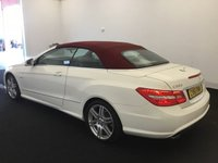 USED 2011 61 MERCEDES-BENZ E CLASS 3.0 E350 CDI BLUEEFFICIENCY SPORT 2d AUTO 265 BHP