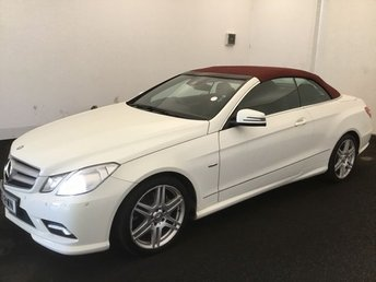 2011 MERCEDES-BENZ E CLASS 3.0 E350 CDI BLUEEFFICIENCY SPORT 2d AUTO 265 BHP £12995.00