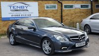 USED 2009 59 MERCEDES-BENZ E CLASS 2.1 E250 CDI BLUEEFFICIENCY SPORT 2d AUTO 204 BHP