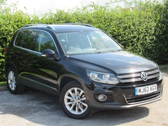 2012 VOLKSWAGEN TIGUAN 2.0 SE TDI BLUEMOTION TECHNOLOGY 4MOTION 5d £10542.00