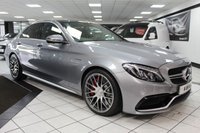 USED 2016 65 MERCEDES-BENZ C CLASS 4.0 AMG C 63 S PREMIUM AUTO 510 BHP FMSH SPORTS EXHAUST PAN ROOF!