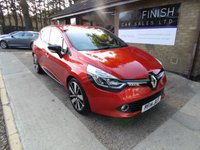 USED 2014 14 RENAULT CLIO 1.5 DYNAMIQUE S MEDIANAV ENERGY DCI S/S 5d 90 BHP * FULL SERVICE HISTORY * ZERO ROAD TAX * SATELLITE NAVIGATION *