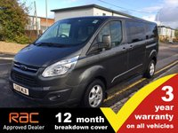 2018 FORD TOURNEO CUSTOM 310 L2 Titanium 130ps (Sat Nav, Leather, 9-seats) (Pre-MCA) £19850.00