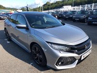 USED 2017 67 HONDA CIVIC 1.5 VTEC SPORT PLUS 5d 180 BHP One local owner 9,000 miles with Honda service package