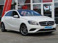 2013 MERCEDES-BENZ A CLASS 1.6 A200 BLUEEFFICIENCY SPORT 5d AUTO 156 BHP £12495.00