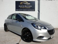 USED 2015 15 VAUXHALL CORSA 1.4 LIMITED EDITION 3d 89 BHP