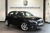 """USED 2013 63 AUDI A1 1.6 SPORTBACK TDI S LINE 5DR 105 BHP full service history * NO ADMIN FEES * FINISHED IN STUNNING BLACK WITH HALF LEATEHR INTERIOR + FULL SERVICE HISTORY + BLUETOOTH + HEATED MIRRORS + AIR CONDITIONING + SPORT SEATS + PARKING SENSORS + 17"""" ALLOY WHEELS"""