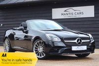 USED 2017 17 MERCEDES-BENZ SLC 2.0 SLC 200 AMG LINE 2d AUTO 181 BHP