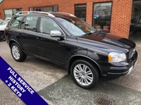 "USED 2012 62 VOLVO XC90 2.4 D5 EXECUTIVE AWD 5DOOR AUTO 200 BHP Satellite Navigation   :   AUX Socket   :   Cruise Control   :   Phone Bluetooth Connectivity      Climate Control / Air Conditioning   :   Heated & Electric Front Seats with Massaging Function      Rear Parking Sensors   :   19"" Alloy Wheels   :   2 Keys   :   Full Service History"