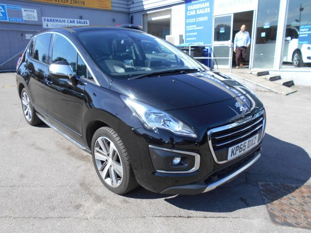 USED 2015 65 PEUGEOT 3008 2.0 HDI ALLURE 5d 150 BHP HATCHBACK