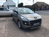 USED 2010 60 PEUGEOT 3008 1.6 EXCLUSIVE HDI 5d 110 BHP 1 OWNER-FULL DEALER HISTORY-NAV-BLUETOOTH-PAN ROOF-LOW MILEAGE-FRONT AND REAR PARKING SENSORS