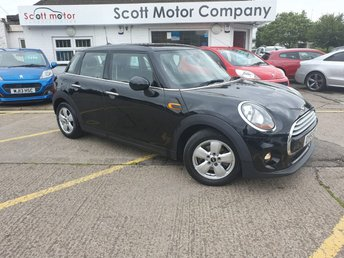 Used MINI cars in Tamworth from Scott Motor Company Ltd