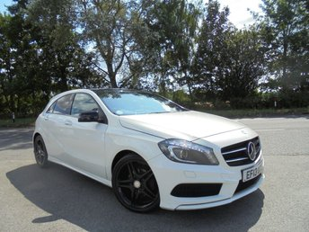 2013 MERCEDES-BENZ A CLASS 1.8 A180 CDI BLUEEFFICIENCY AMG SPORT 5d AUTO 109 BHP £10695.00