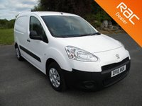 USED 2015 15 PEUGEOT PARTNER 1.6 HDI PROFESSIONAL L1 625 1d 75 BHP Part Ex To Clear - Minor Marks, Air Conditioning, Aux Input