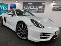 "USED 2014 PORSCHE CAYMAN 2.7 24V 2d 275 BHP 20"" CARRERA S WHEELS, F/S/H"
