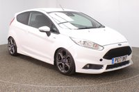USED 2017 17 FORD FIESTA 1.0 ST-LINE 3DR 1 OWNER 139 BHP FULL SERVICE HISTORY + £20 12 MONTHS ROAD TAX + BLUETOOTH + MULTI FUNCTION WHEEL + AIR CONDITIONING + DAB RADIO + PRIVACY GLASS + XENON HEADLIGHTS + RADIO/CD/AUX/USB + ELECTRIC WINDOWS + ELECTRIC MIRRORS + 17 INCH ALLOY WHEELS